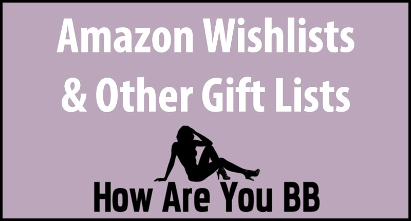 Amazon Wishlist Advice