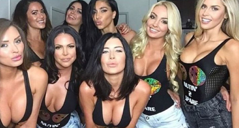 group of cam girls