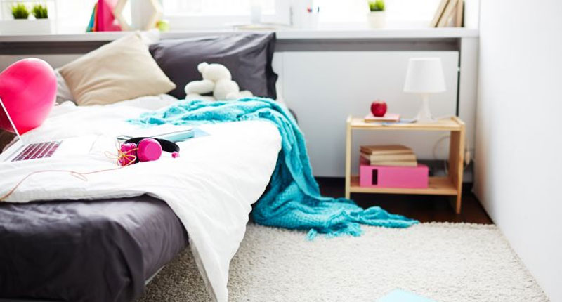 clean and neat bedroom