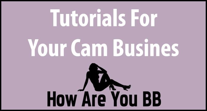 webcam tutorials for your business
