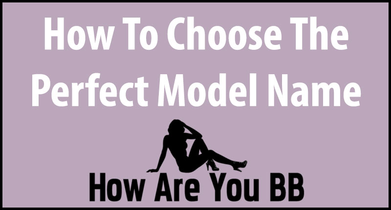 Cam Model Name